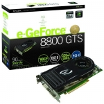 EVGA e-GeForce 8800GTS 320 MB PCIe Video Card